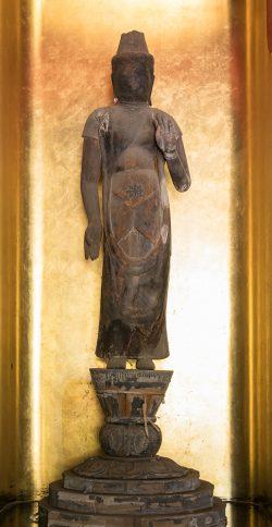 聖観音立像(藤原期)